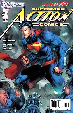 Action Comics #1 Jim Lee Variant Cover [Comic] LARGE