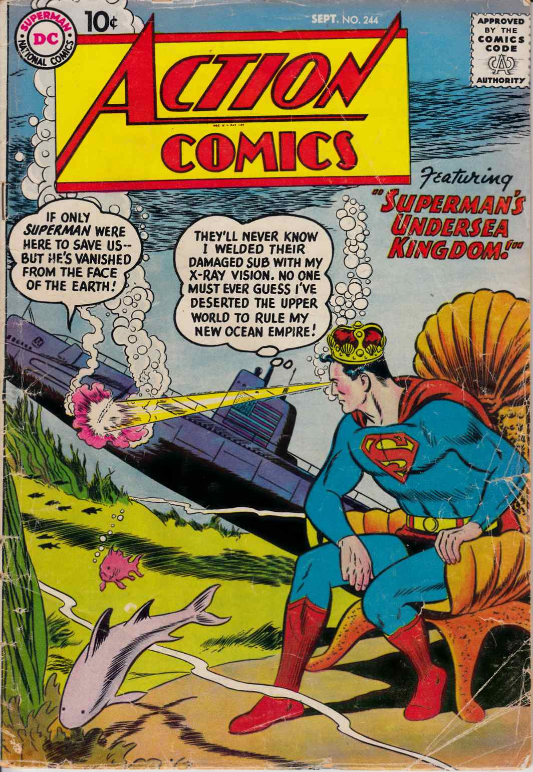 Action Comics #244 Good/Very Good (3.0) [DC Comic] THUMBNAIL