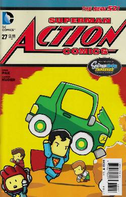 Action Comics #27 Scribblenauts Unmasked Variant Cover [Comic]
