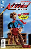 Action Comics #29 Robot Chicken Variant Cover [DC Comic]_THUMBNAIL