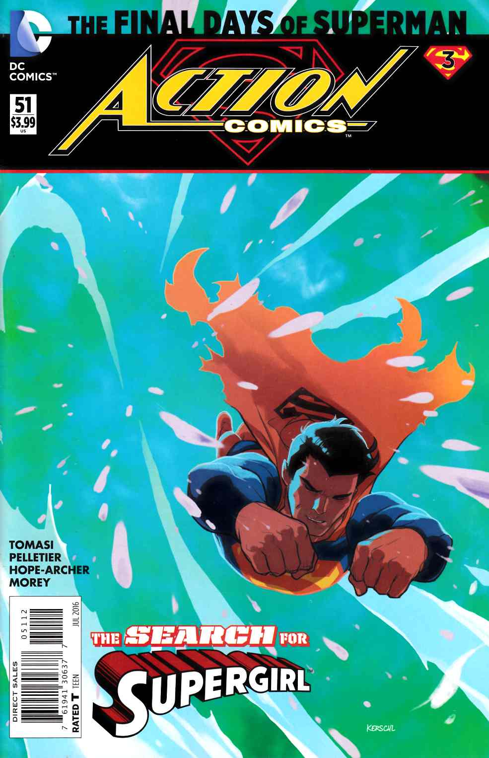 Action Comics #51 Second Printing [DC Comic] THUMBNAIL