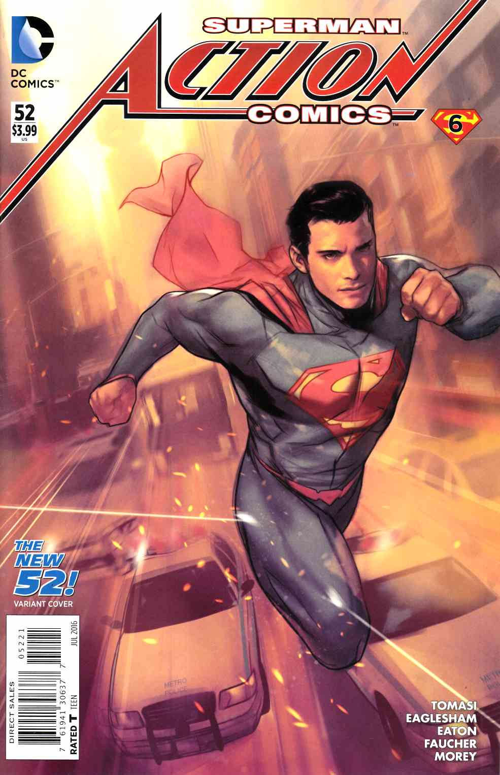 Action Comics #52 Oliver Variant Cover [DC Comic] THUMBNAIL