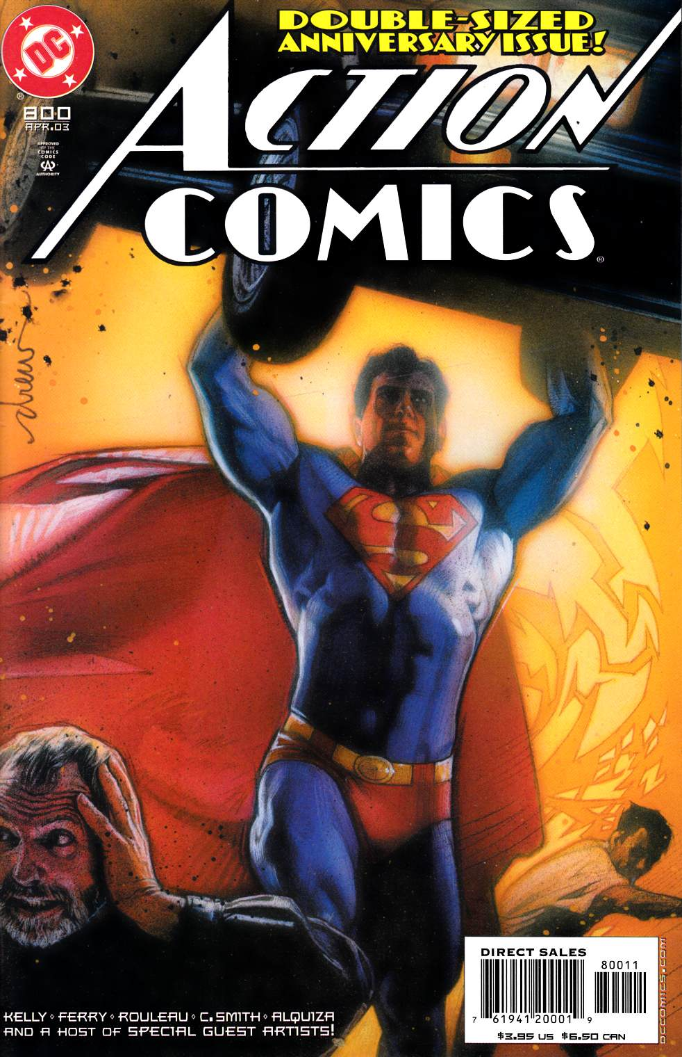 Action Comics #800 Near Mint (9.4) [DC Comic] LARGE