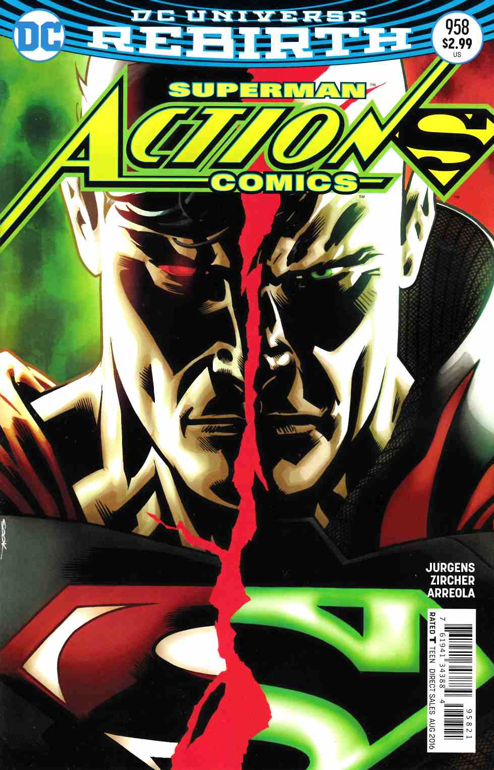 Action Comics #958 Sook Variant Cover [DC Comic] LARGE