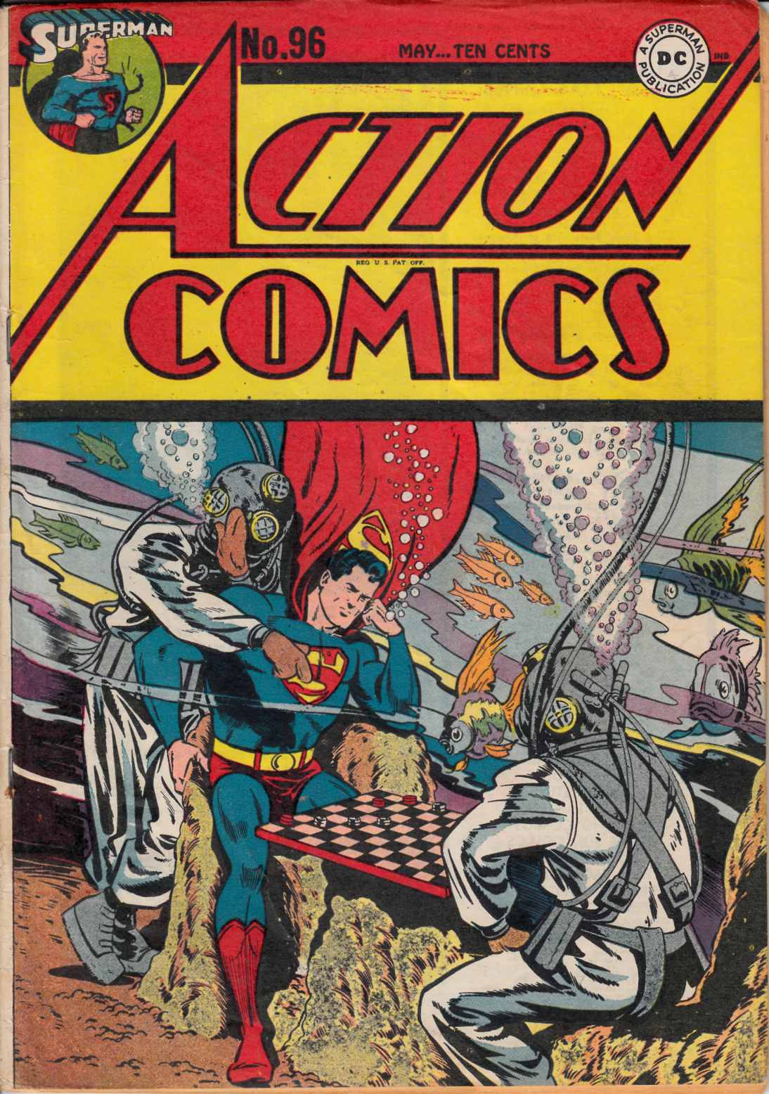 Action Comics #96 Very Good/Fine (5.0) [DC Comic] THUMBNAIL