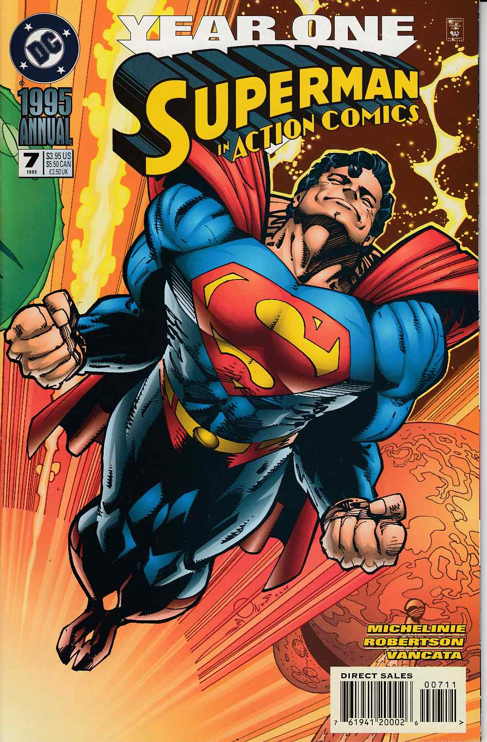 Action Comics Annual #7 Very Fine (8.0) [DC Comic] THUMBNAIL