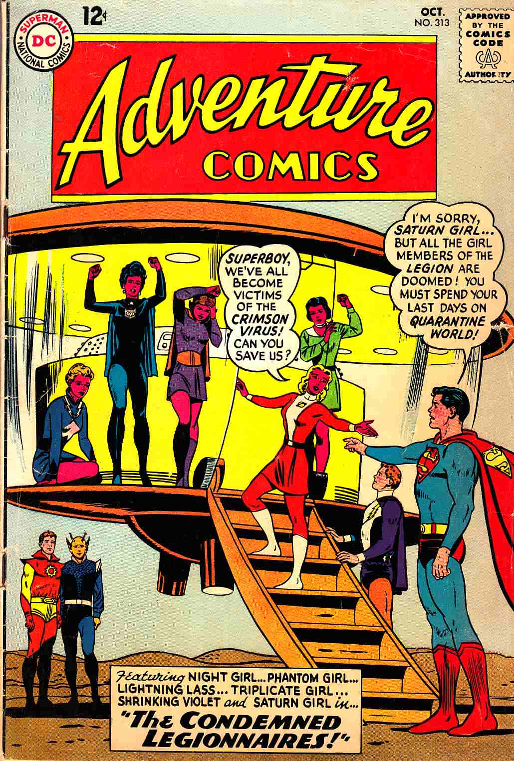 Adventure Comics #313 Very Good (4.0) [DC Comic]