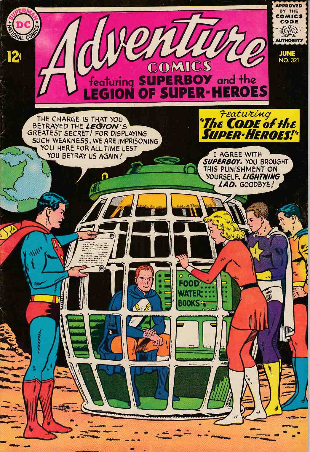 Adventure Comics #321 Fine Minus (5.5) [DC Comic]_THUMBNAIL