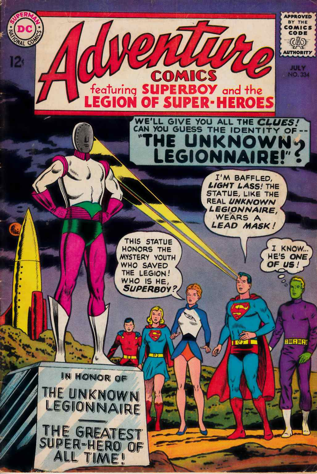 Adventure Comics #334 Very Good (4.0) [DC Comic] THUMBNAIL