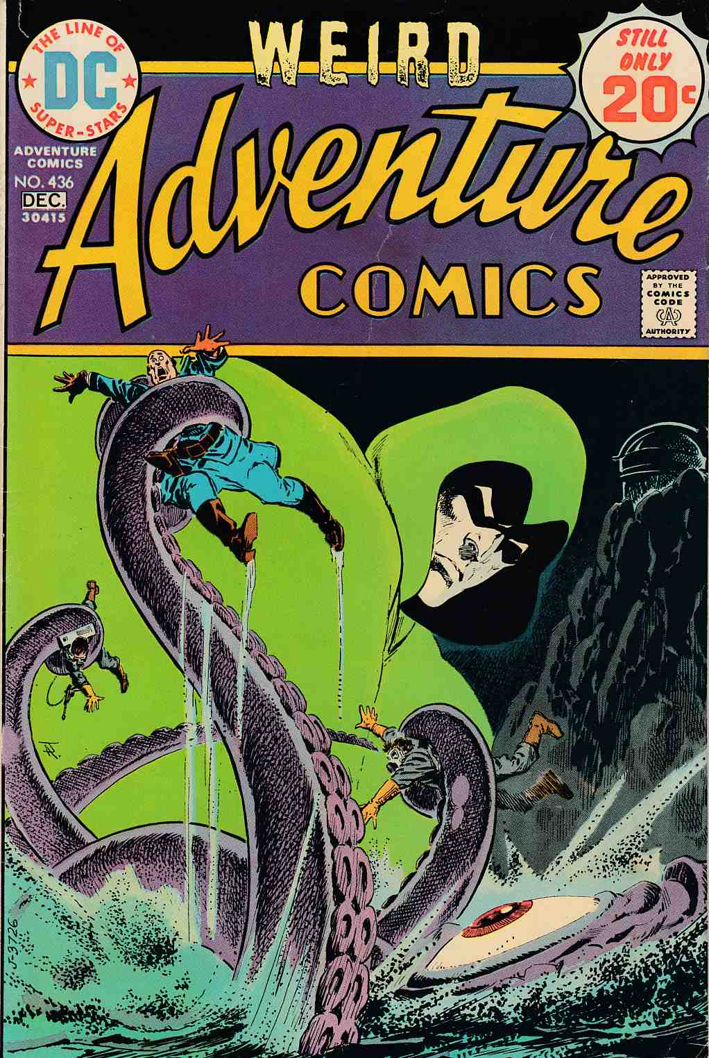 Adventure Comics #436 Fine (6.0) [DC Comic] LARGE