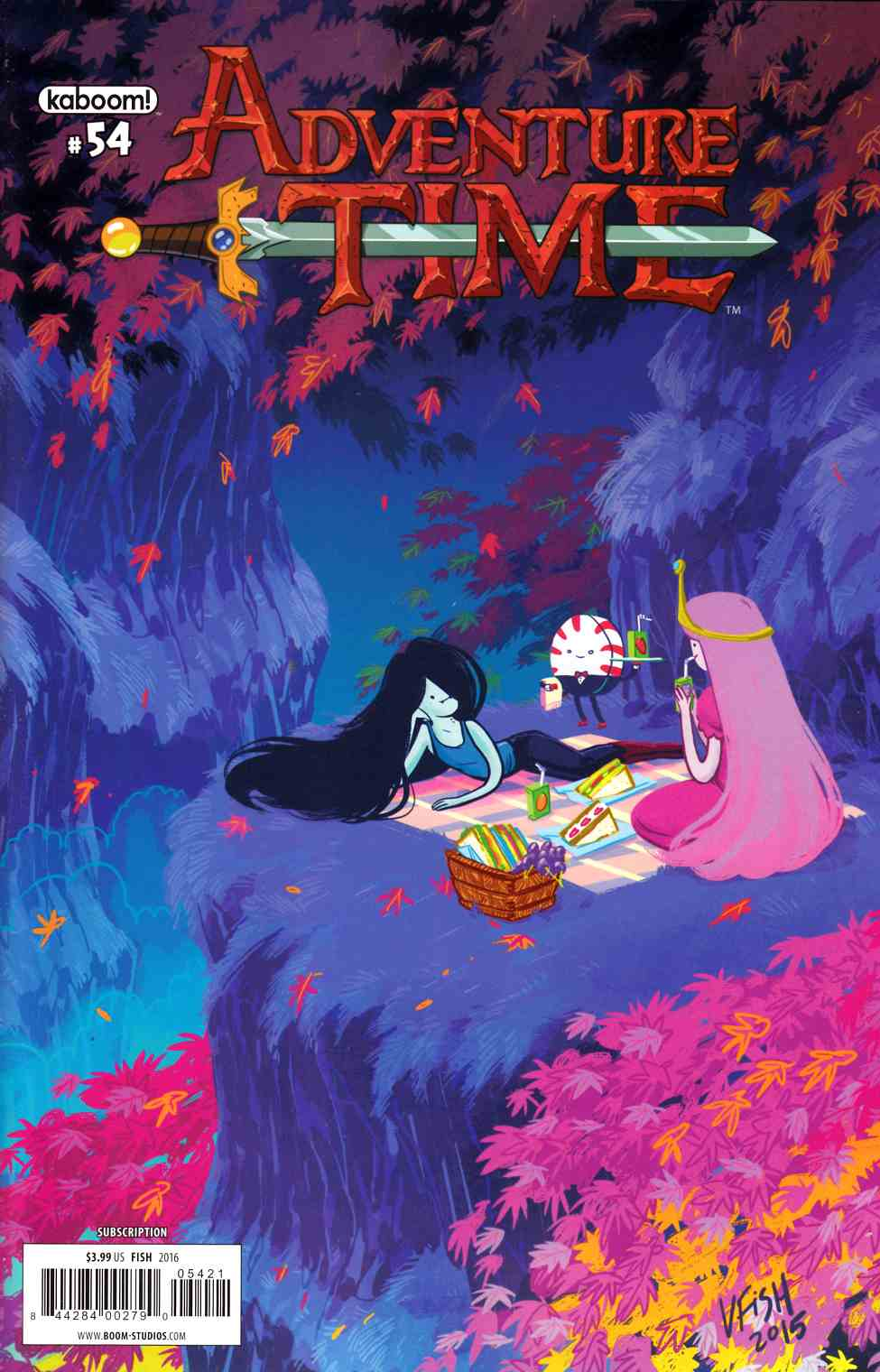 Adventure Time #54 Subscription Cover [Boom Comic] LARGE