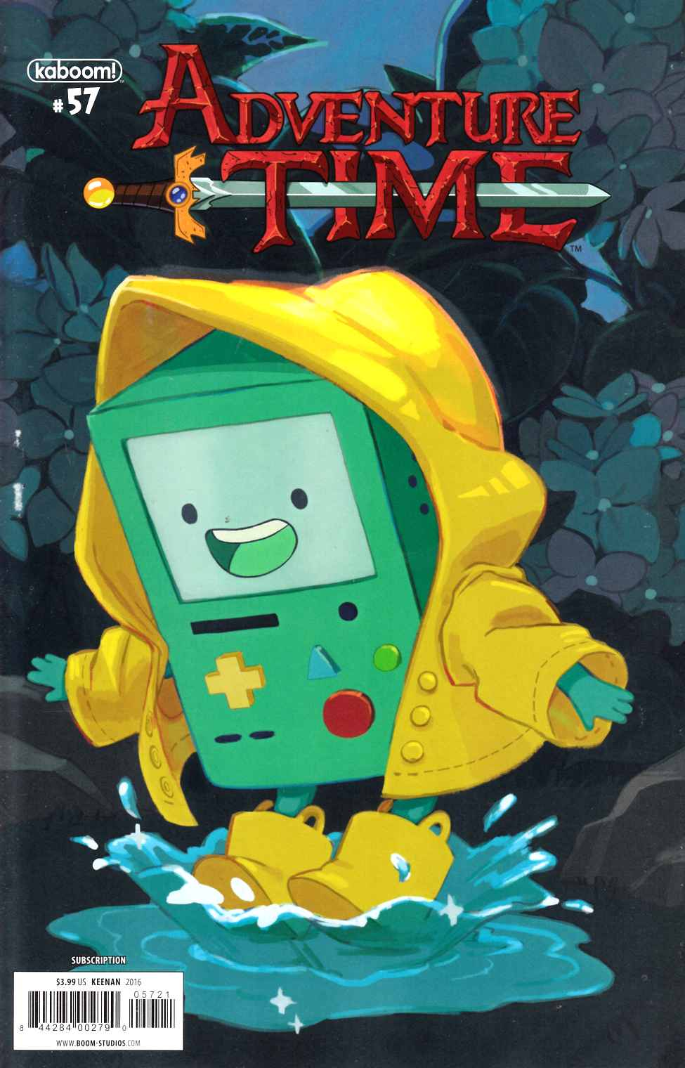 Adventure Time #57 Subscription Cover [Boom Comic] LARGE