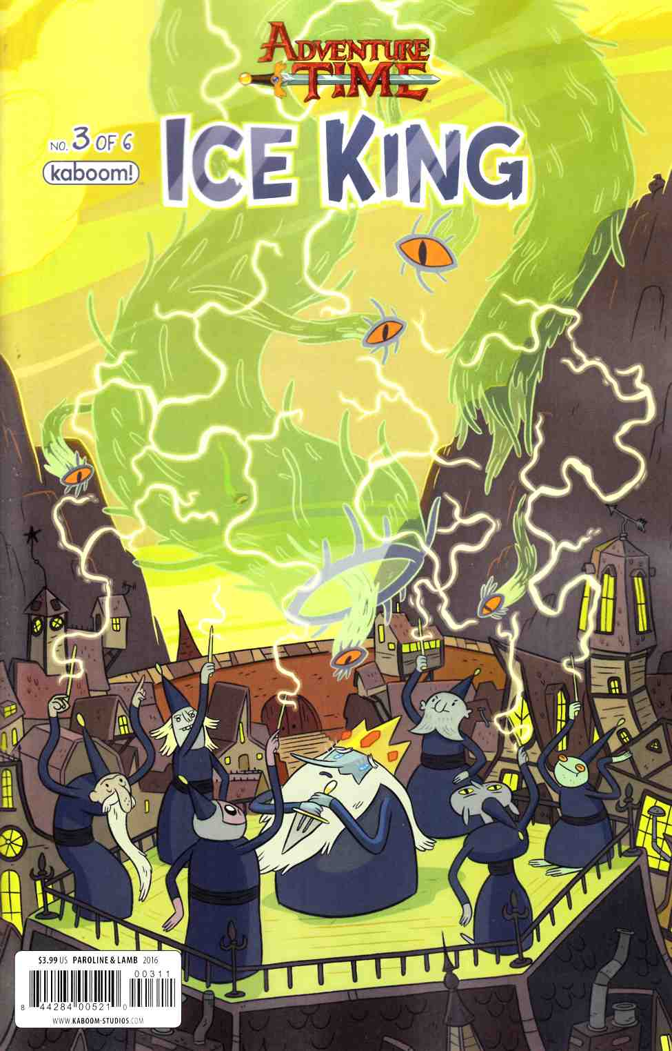 Adventure Time Ice King #3 [Boom Comic] THUMBNAIL