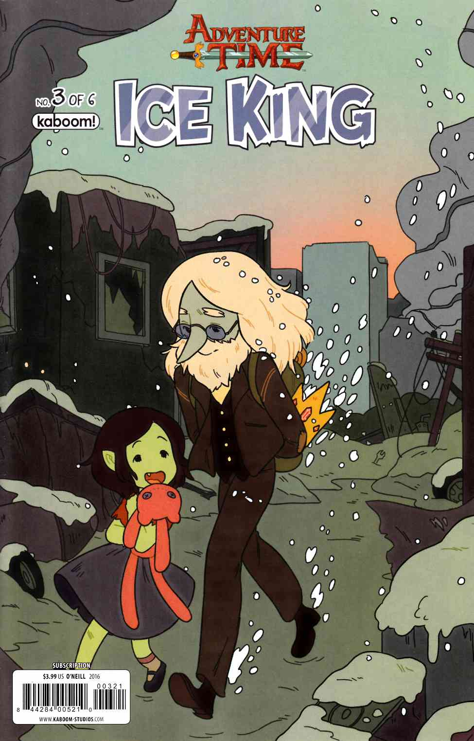 Adventure Time Ice King #3 Subscription Glasheen Cover [Boom Comic] THUMBNAIL