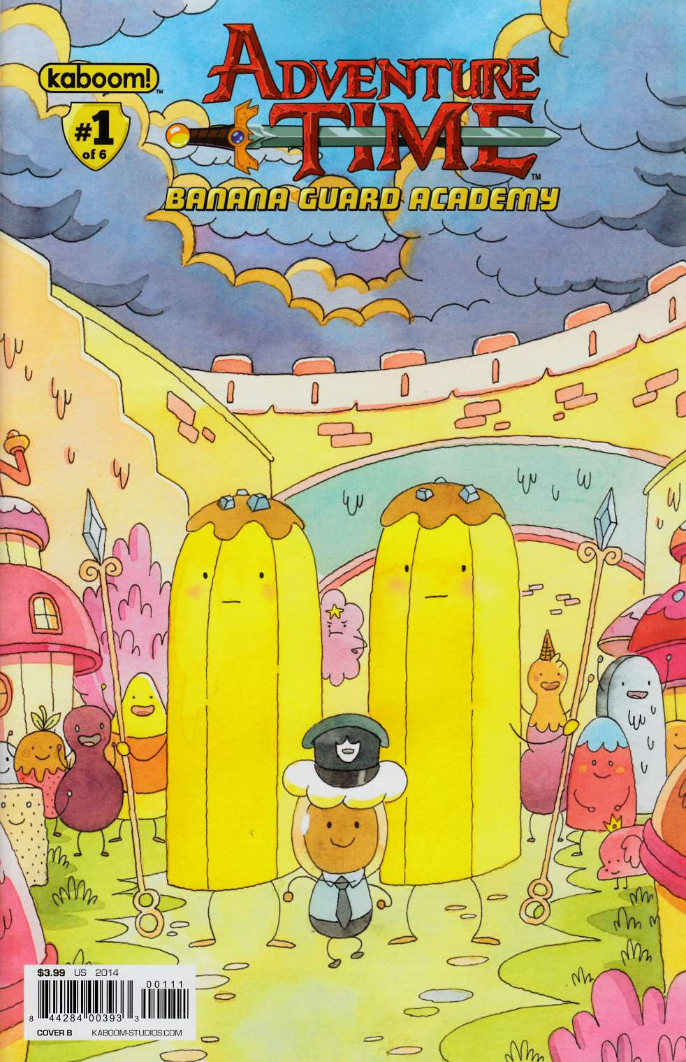 Adventure Time Banana Guard Academy #1 Cover B [Comic]