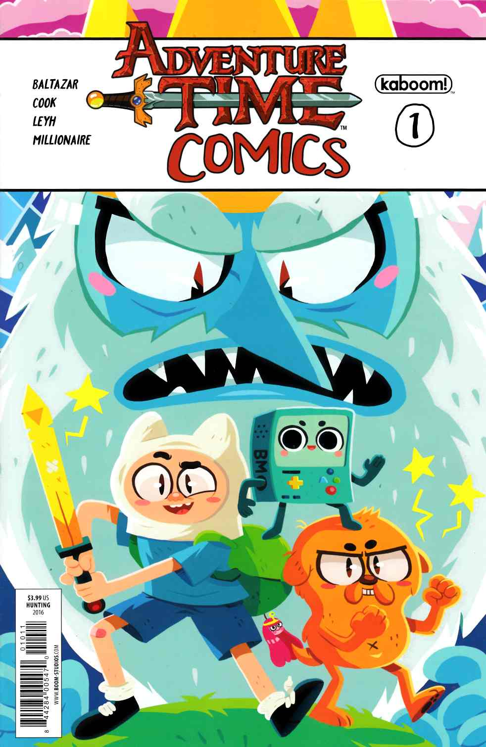 Adventure Time Comics #1 [Boom Comic] THUMBNAIL