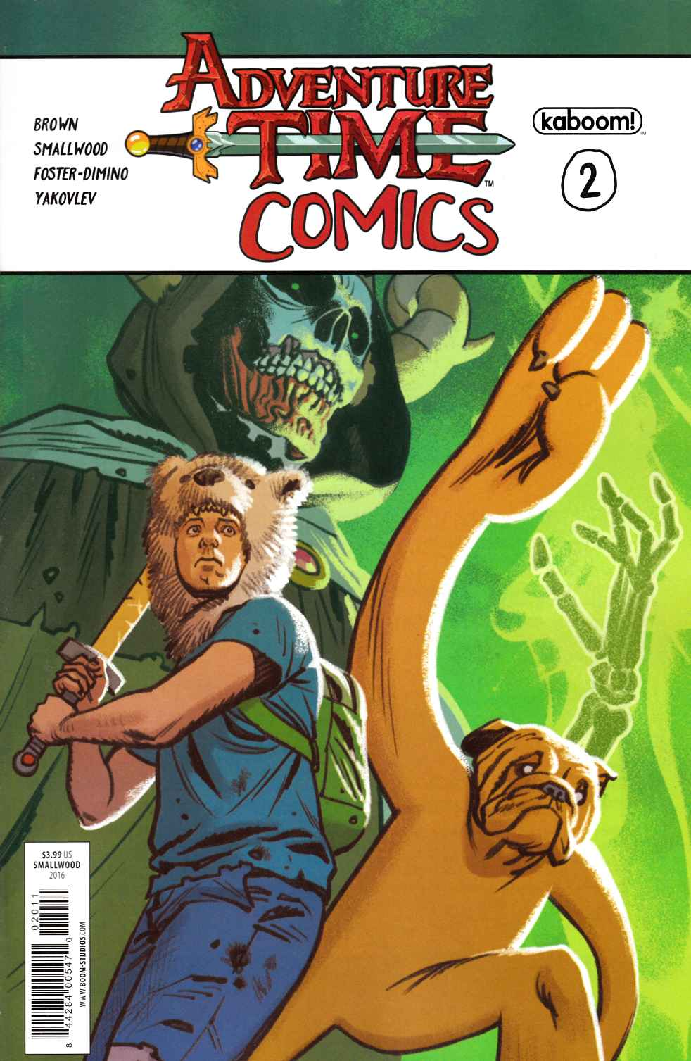 Adventure Time Comics #2 [Boom Comic] THUMBNAIL