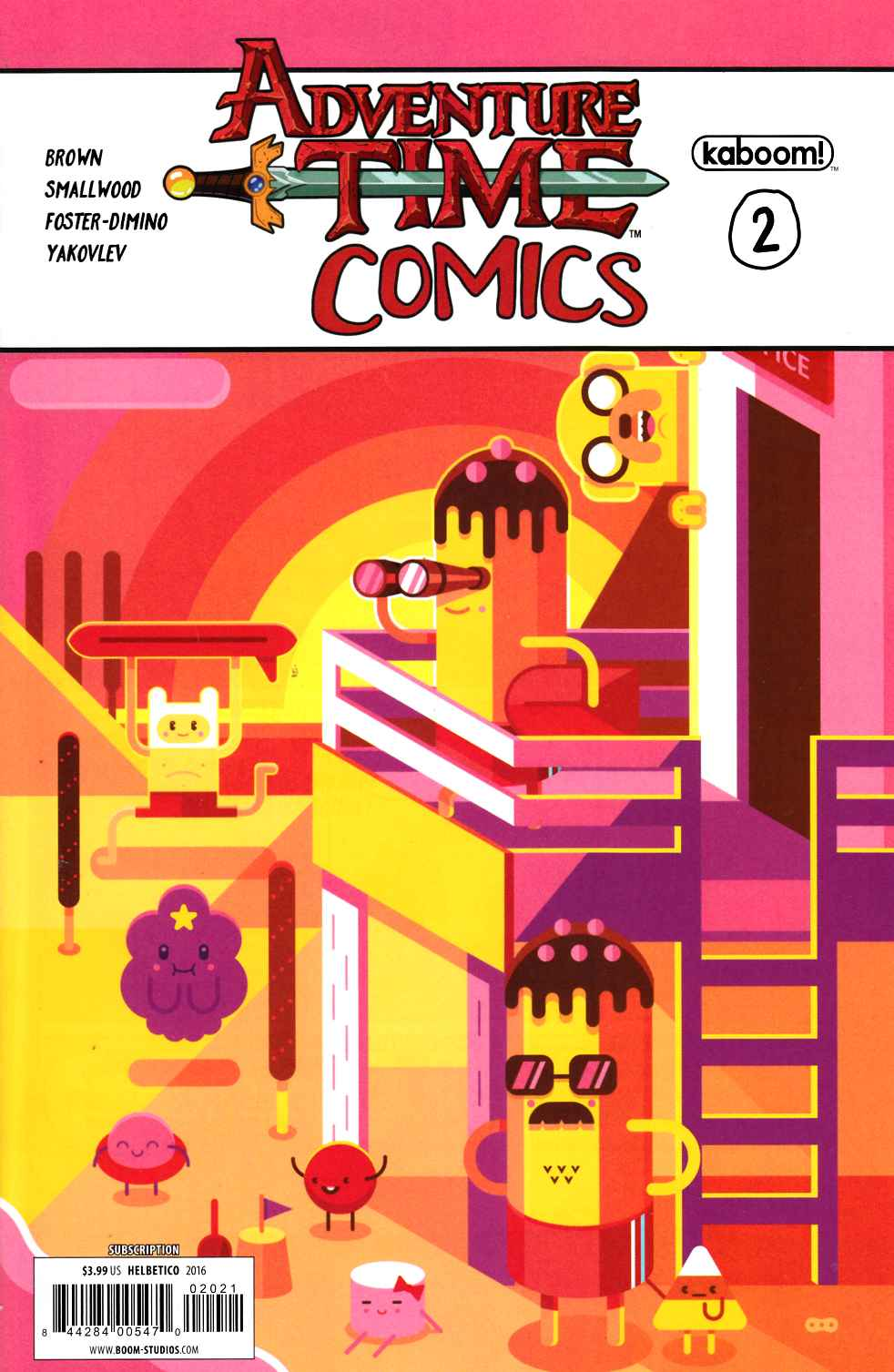 Adventure Time Comics #2 Subscription Cover [Boom Comic] THUMBNAIL