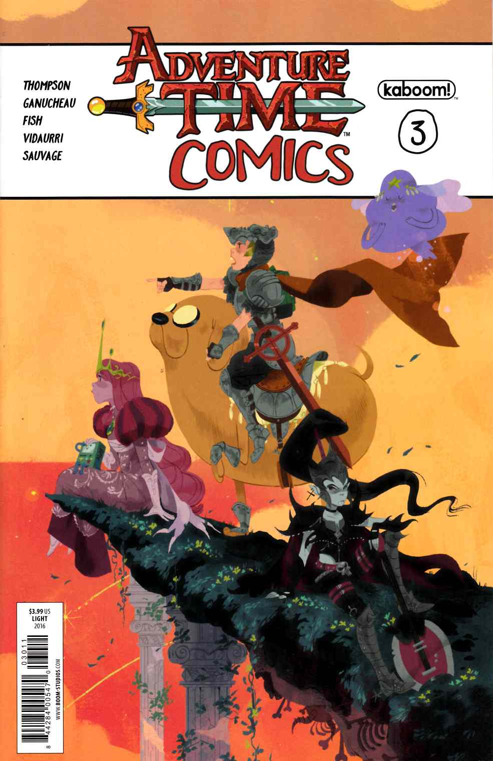 Adventure Time Comics #3 [Boom Comic] LARGE