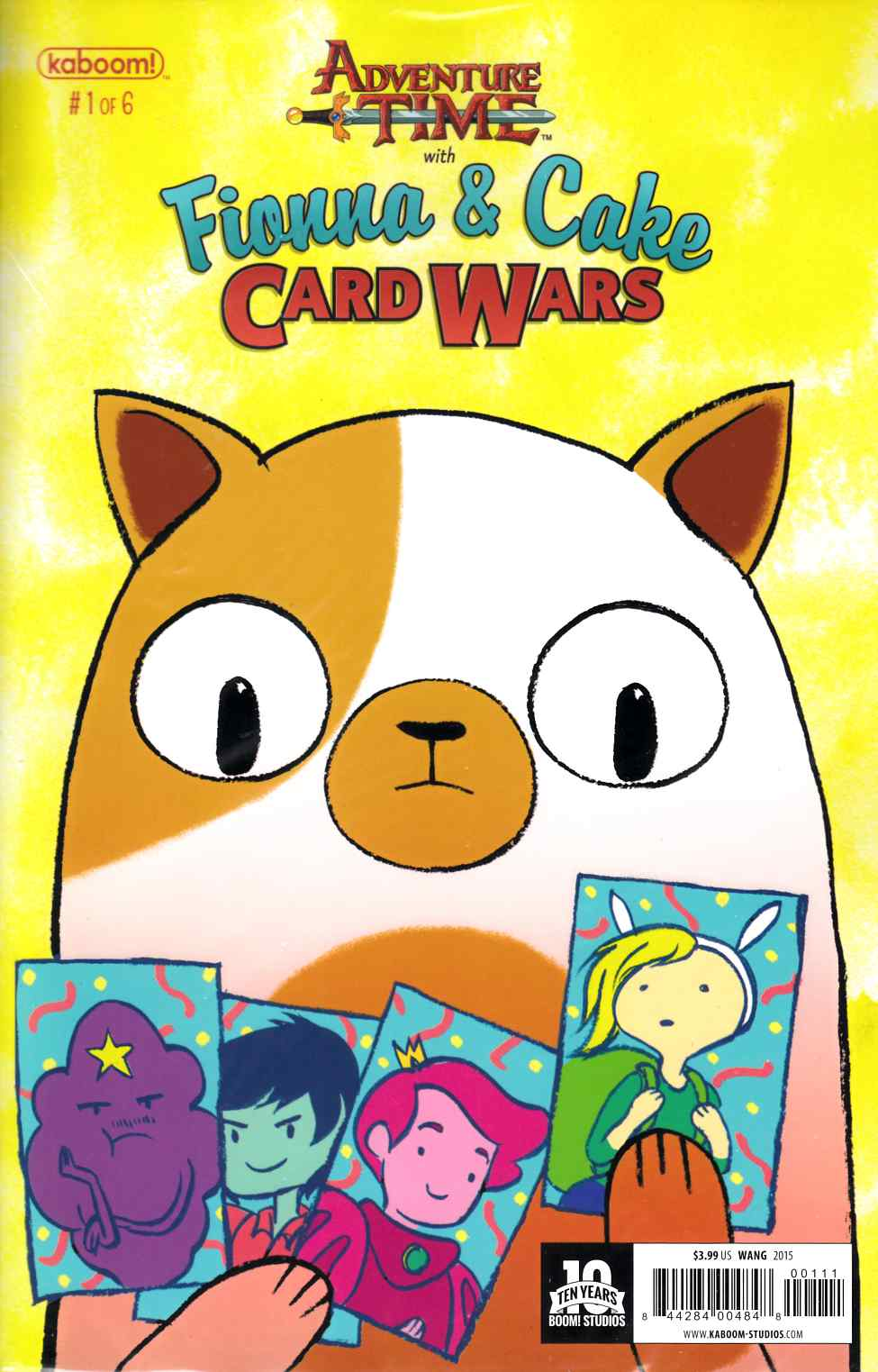Adventure Time Fionna & Cake Card Wars #1 [Boom Comic] THUMBNAIL