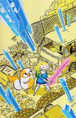 Adventure Time Fionna & Cake #1 Cover D- Riley Incentive [Comic] LARGE