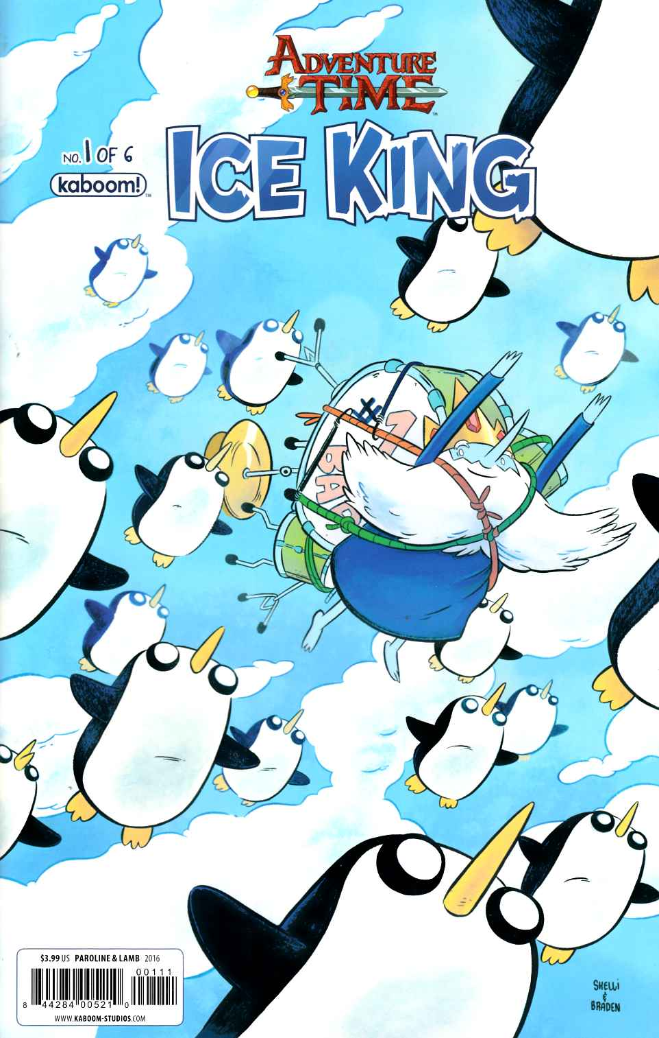 Adventure Time Ice King #1 [Boom Comic] THUMBNAIL