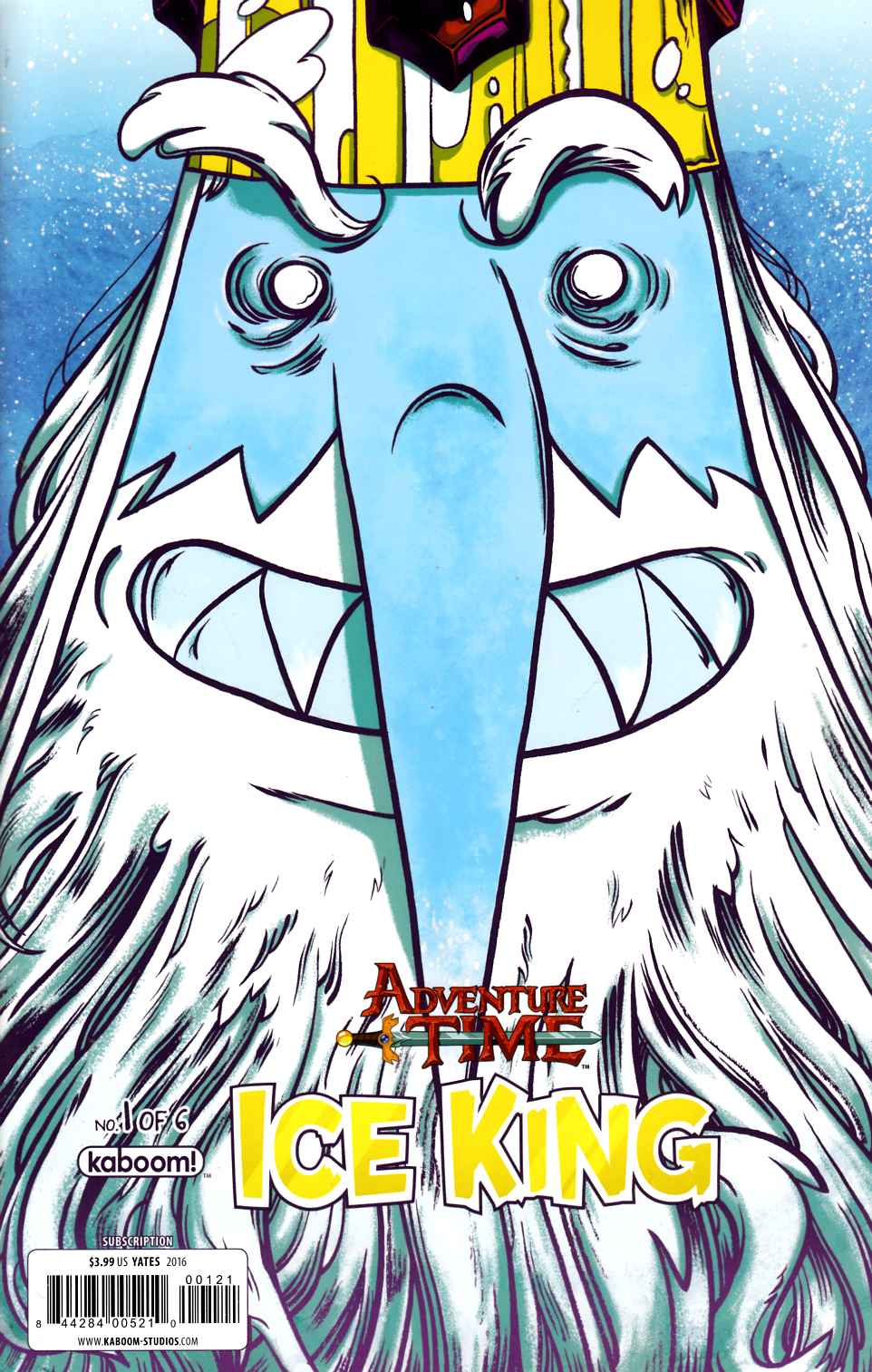 Adventure Time Ice King #1 Yates Subscription Cover [Boom Comic] LARGE