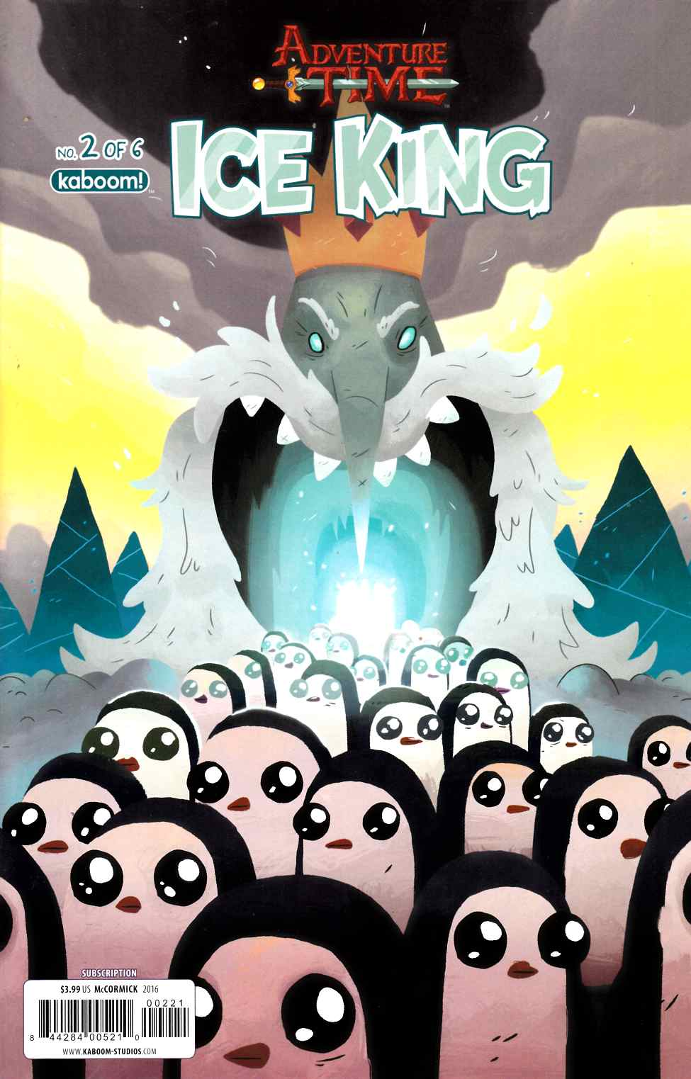 Adventure Time Ice King #2 Subscription Mccormick Cover [Boom Comic] THUMBNAIL