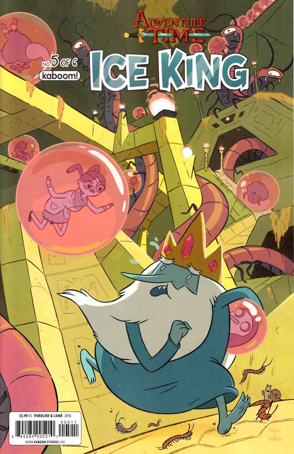 Adventure Time Ice King #5 [Boom Comic] THUMBNAIL