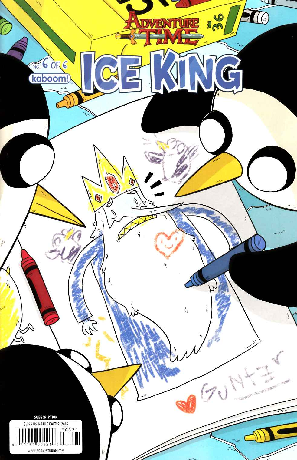 Adventure Time Ice King #6 Subscription Cover [Boom Comic] THUMBNAIL
