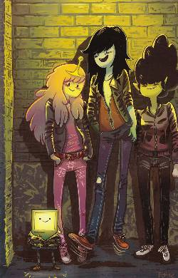 Adventure Time Marceline Scream Queens #4 Cover D- Hicks Incentive [Comic] LARGE