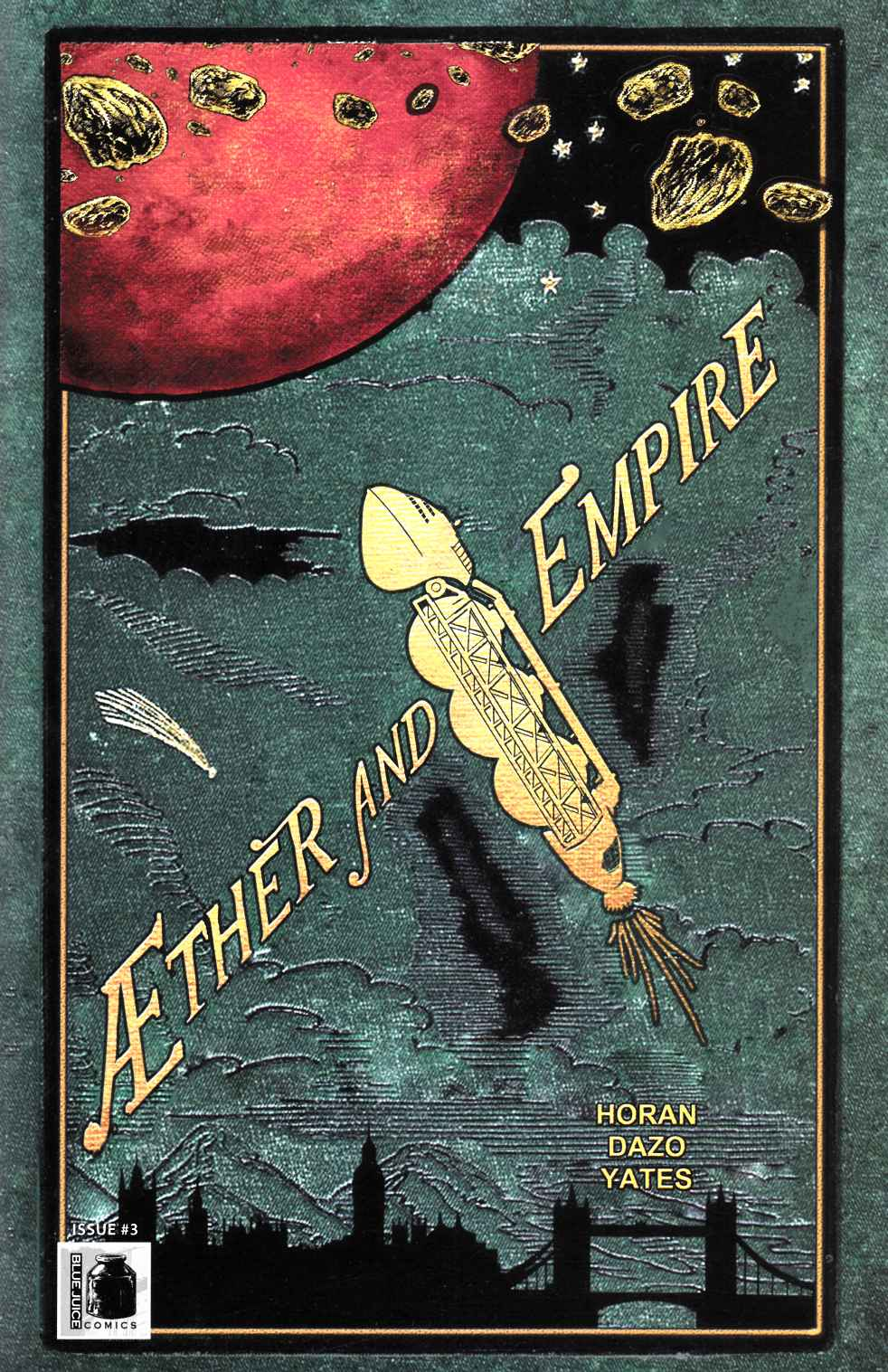 Aether and Empire #3 [Blue Juice Comic] THUMBNAIL