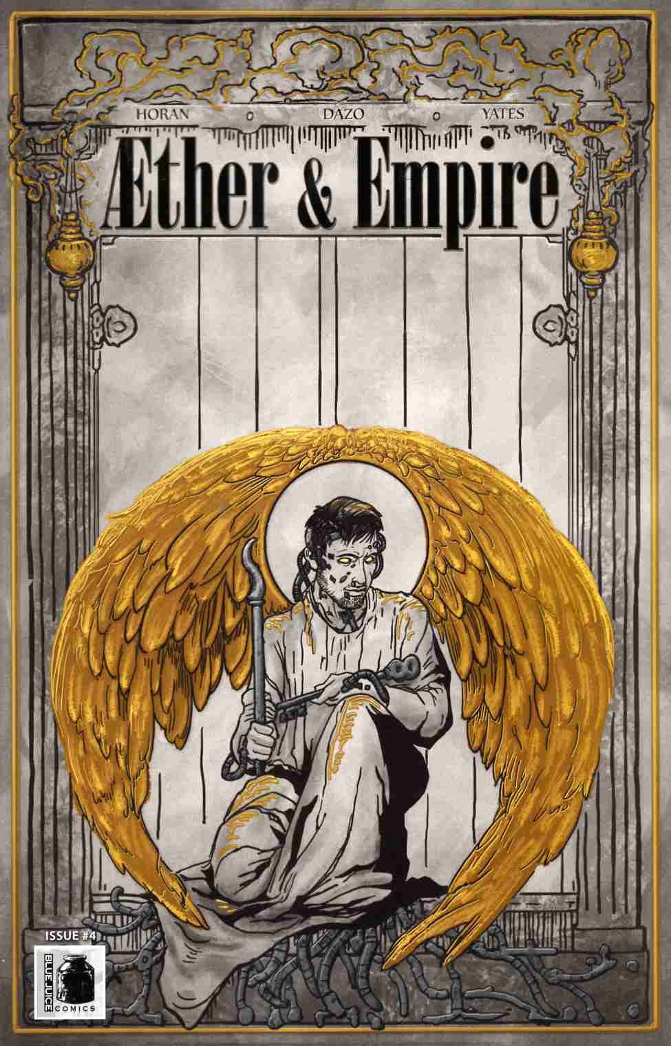 Aether and Empire #4 [Blue Juice Comic] THUMBNAIL
