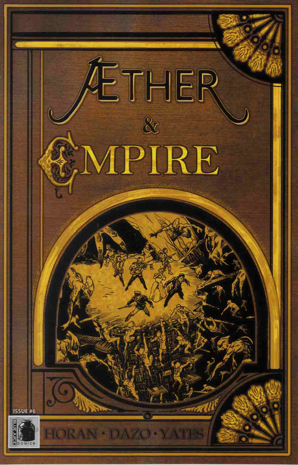 Aether and Empire #6 [Blue Juice Comic] THUMBNAIL