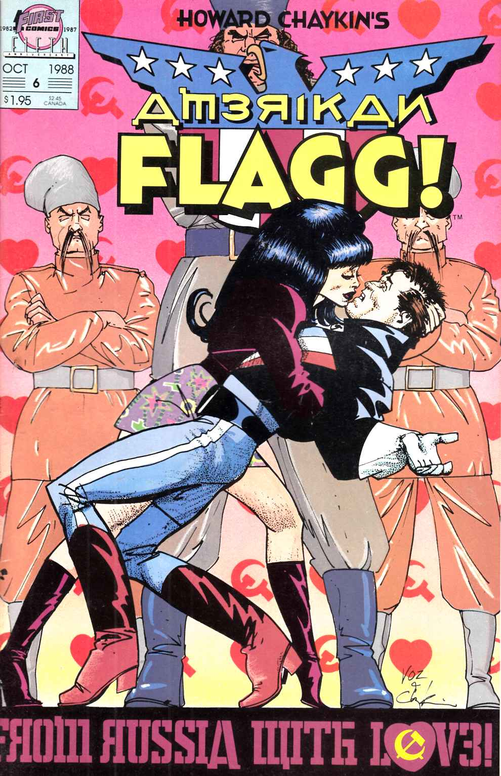 American Flagg #6 Very Fine (8.0) [First Comic] THUMBNAIL