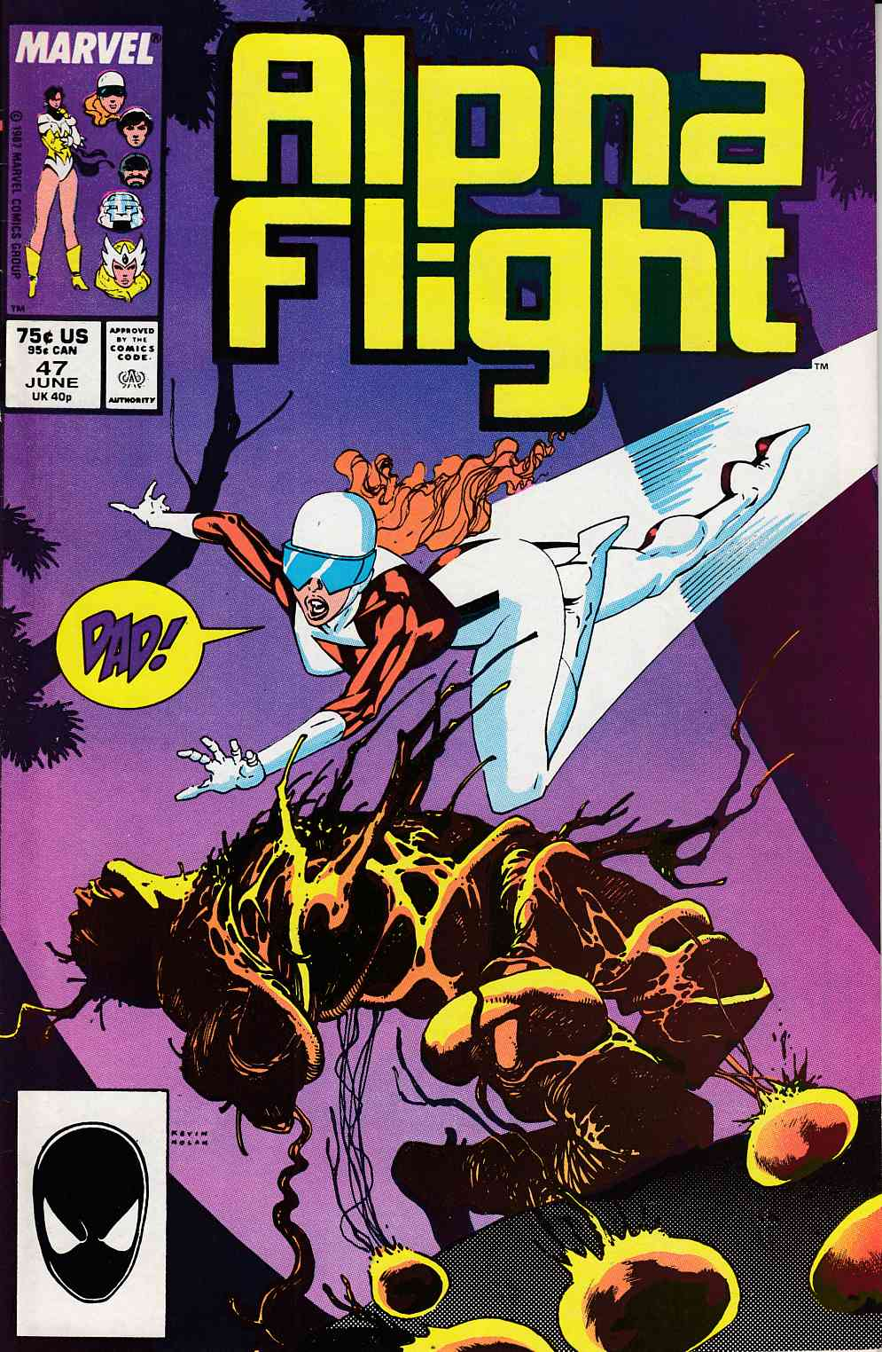 Alpha Flight #47 Very Fine Minus (7.5) [Marvel Comic] LARGE