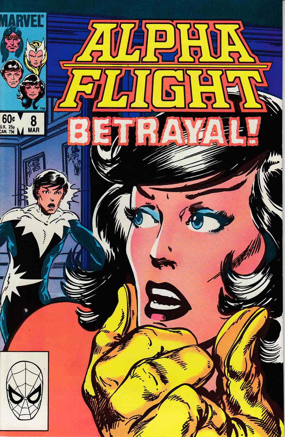 Alpha Flight #8 Near Mint Minus (9.2) [Marvel Comic] THUMBNAIL