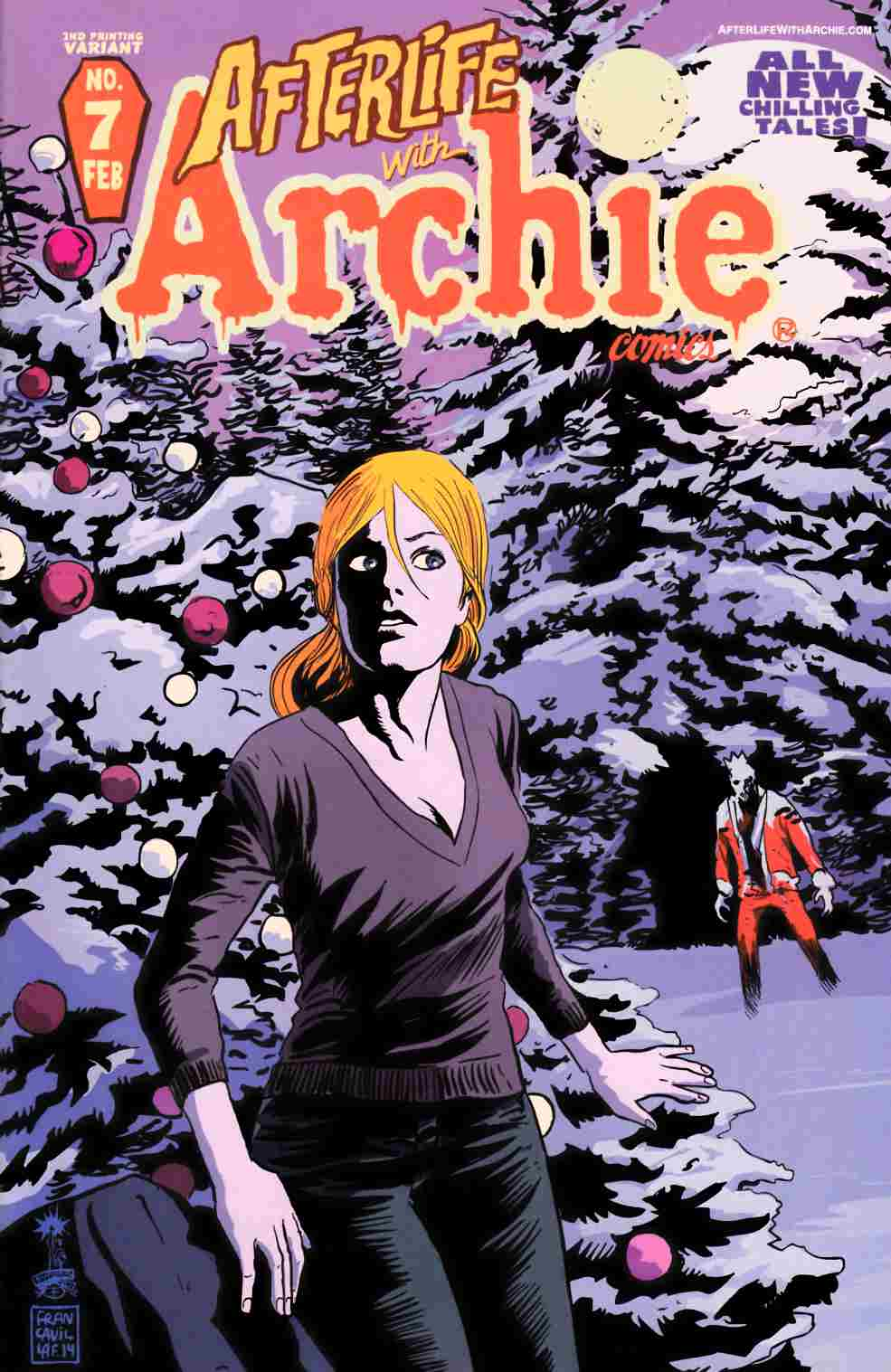 Afterlife With Archie #7 Second Printing [Archie Comic] THUMBNAIL