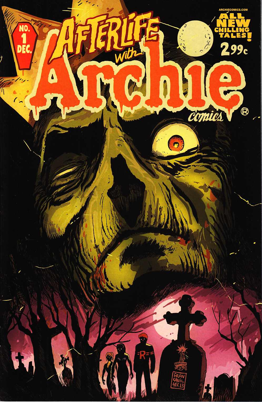 Afterlife With Archie #1 Near Mint (9.4) [Archie Comic]