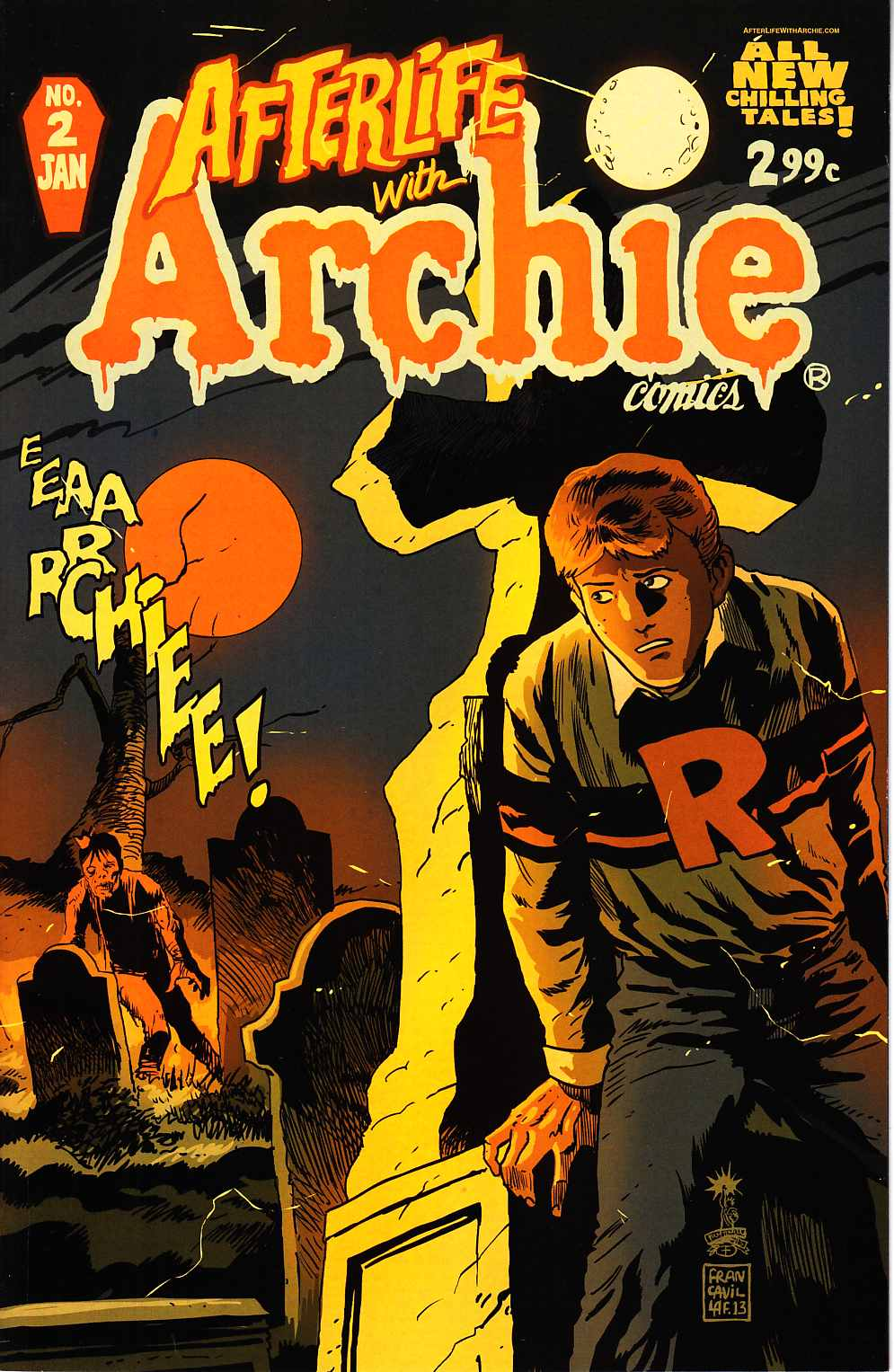 Afterlife With Archie #2 [Archie Comic] THUMBNAIL