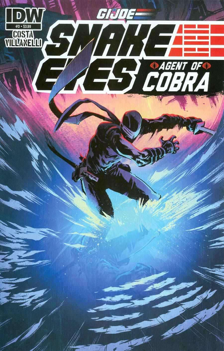 GI Joe Snake Eyes Agent of Cobra #3 Near Mint (9.4) [IDW Comic]