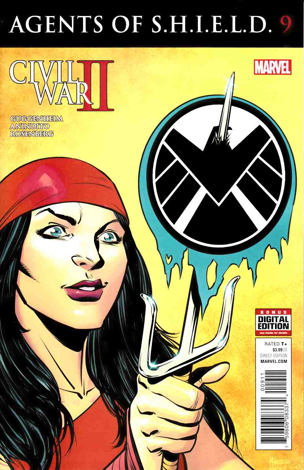 Agents of Shield #9 [Marvel Comic] THUMBNAIL