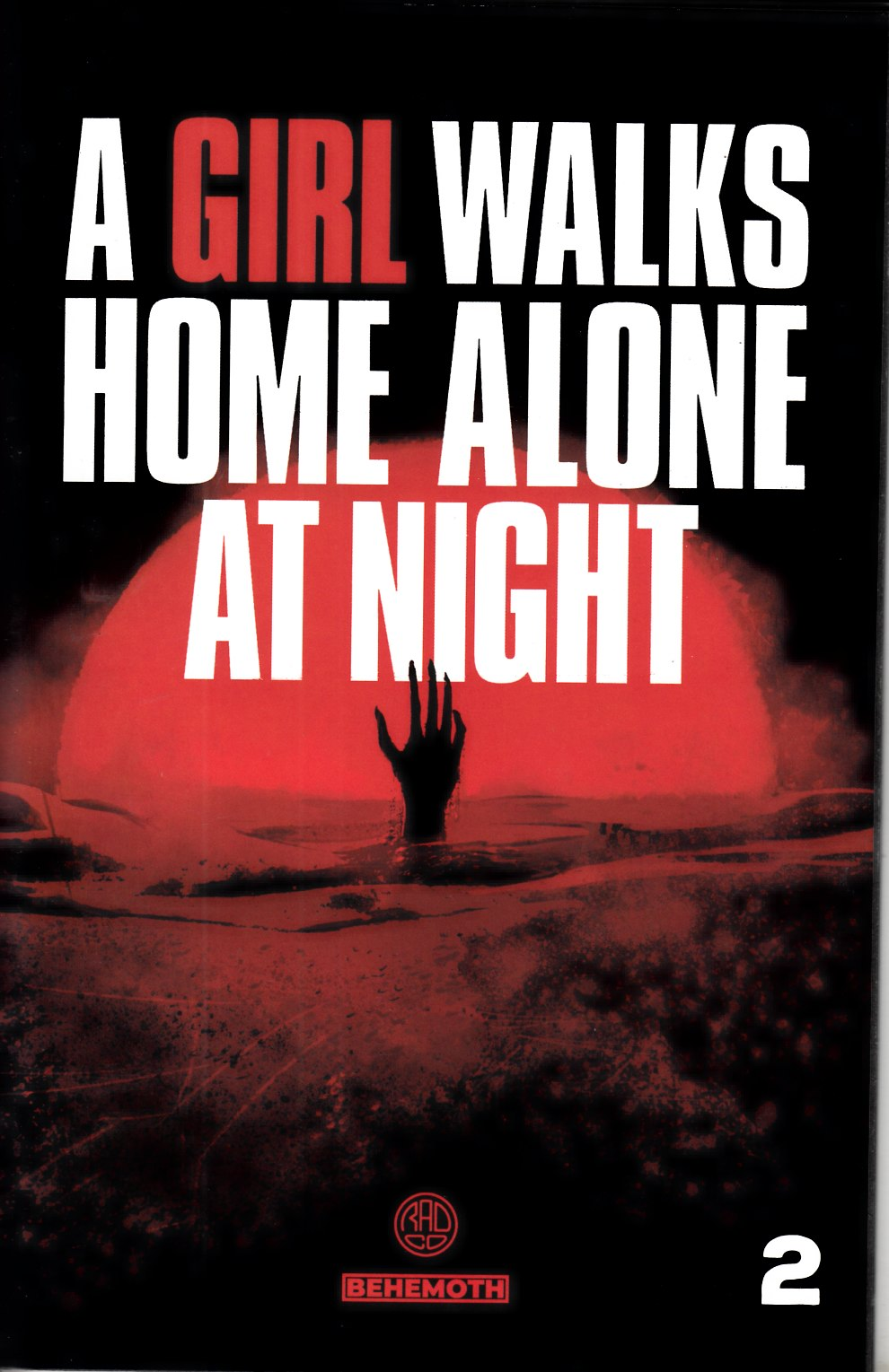 A Girl Walks Home Alone At Night #2 Near Mint (9.4) [Behemoth Comic] LARGE