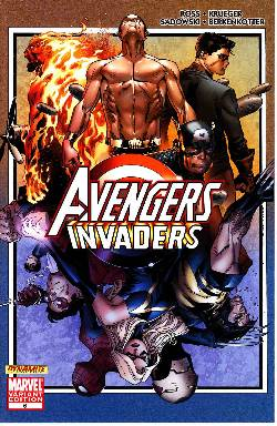 Avengers Invaders #6 Coipel Variant [Comic] LARGE
