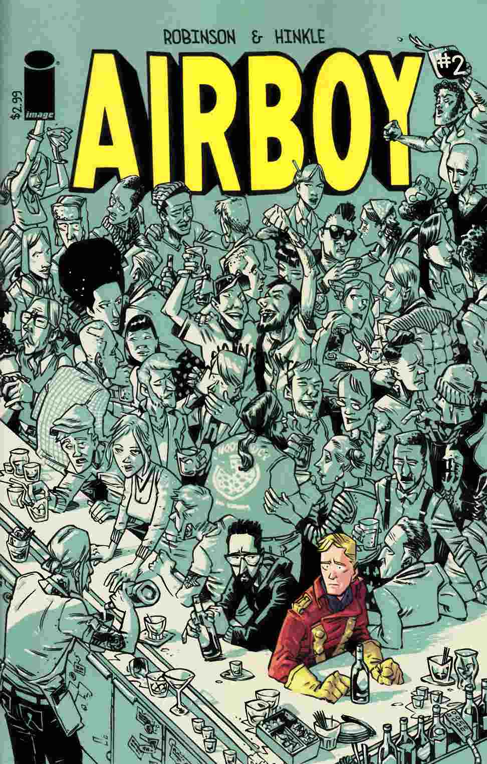 Airboy #2 [Image Comic] LARGE