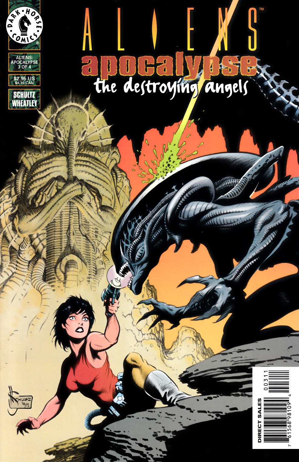 Aliens Apocalypse #3 Near Mint (9.4) [Dark Horse Comic] THUMBNAIL