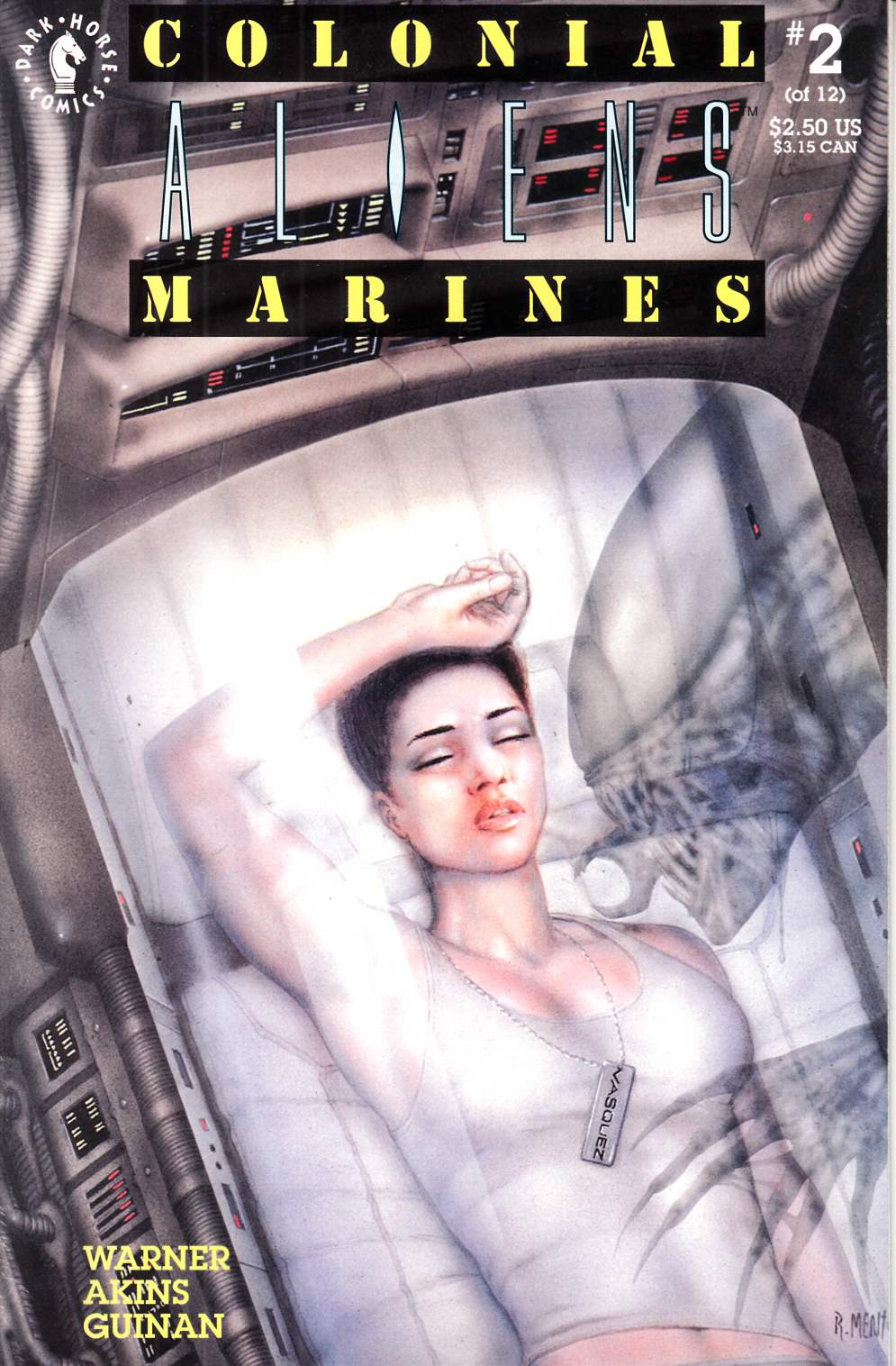 Aliens Colonial Marines #2 Very Fine (8.0) [Dark Horse Comic] THUMBNAIL