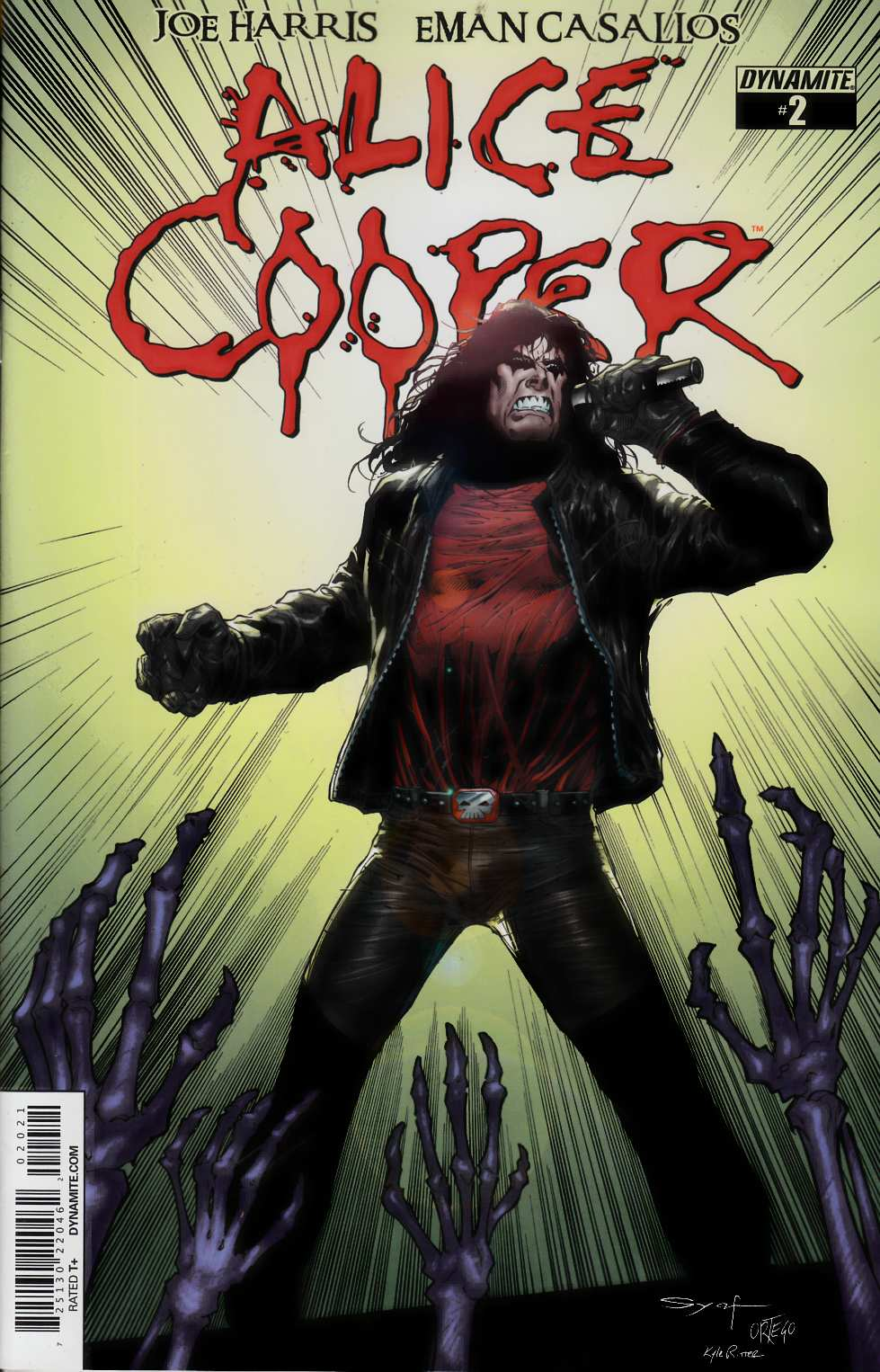 Alice Cooper #2 Syaf Incentive Cover [Comic] THUMBNAIL
