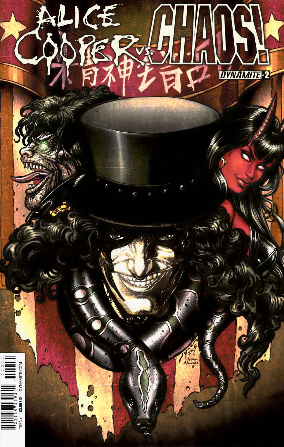 Alice Cooper Vs Chaos #2 Cover A- Chin [Dynamite Comic]_THUMBNAIL