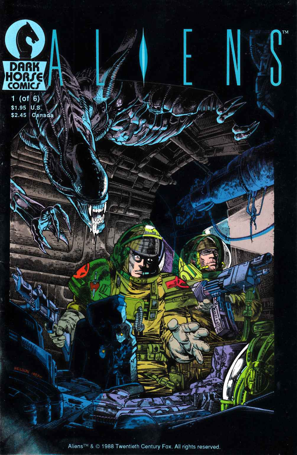 Aliens #1 Fine Plus (6.5) [Dark Horse Comic] THUMBNAIL